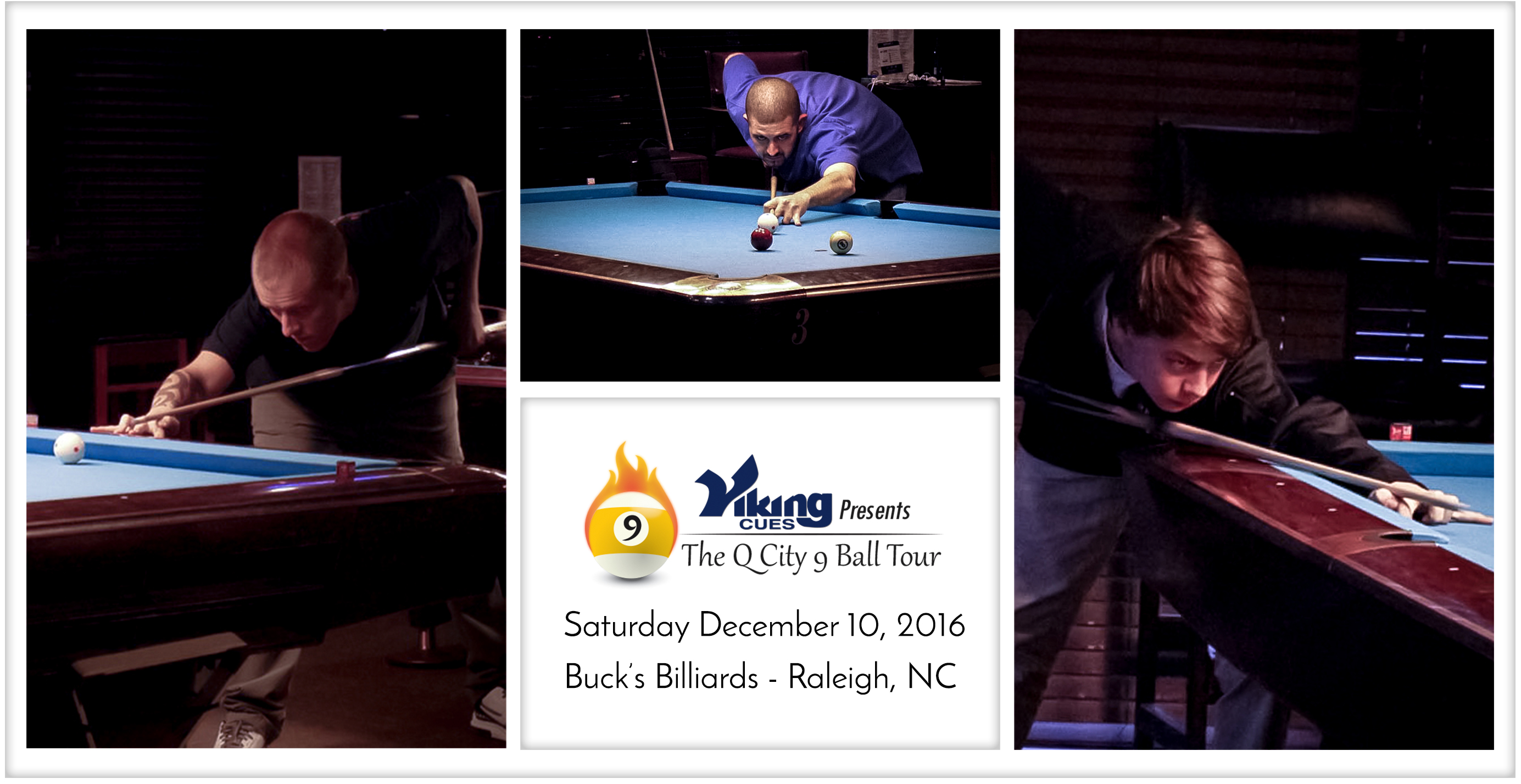 Last Week We Stopped At Bucku0027s Billiards In Raleigh, NC For The Viking Cues  Q City 9 Ball Tour Attracting 24 Players. Weu0027d Like To Thank Shara Adams  And Her ...